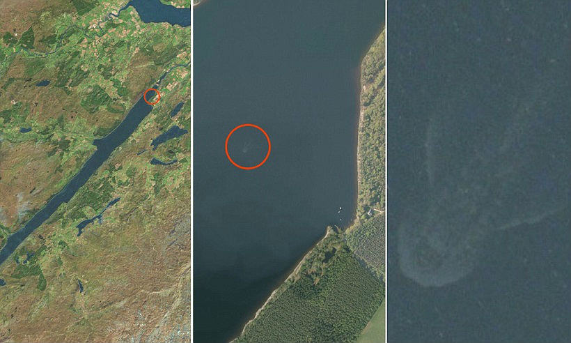 satellite-images-of-loch-ness-monster