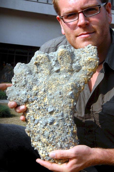 Abominable Snowman Footprints