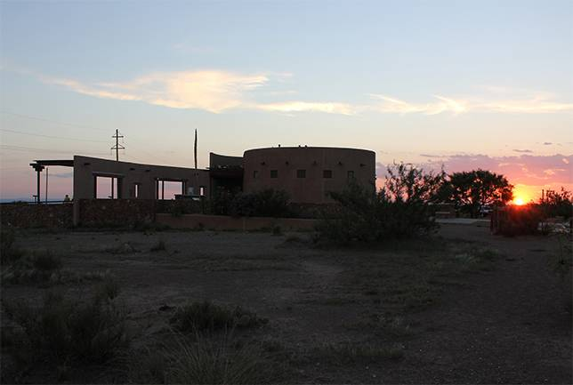 Marfa Lights Viewing Center in Texas