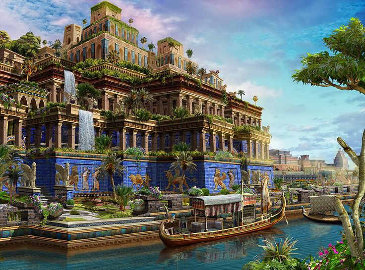 20 mystery facts of the hanging gardens of babylon mysterious monsters for Hanging gardens of babylon definition
