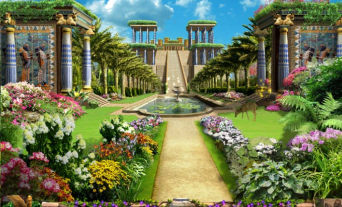Hanging Gardens of Babylon  Wikipedia